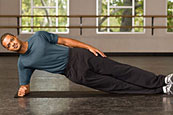 Side Plank with Straight Leg