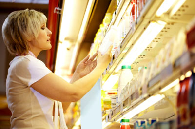 Selecting Yogurt