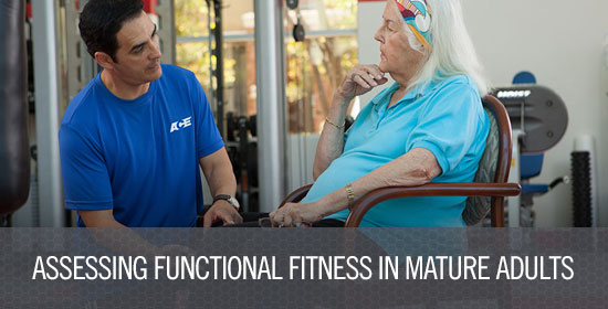 Assessing Functional Fitness in Mature Adults